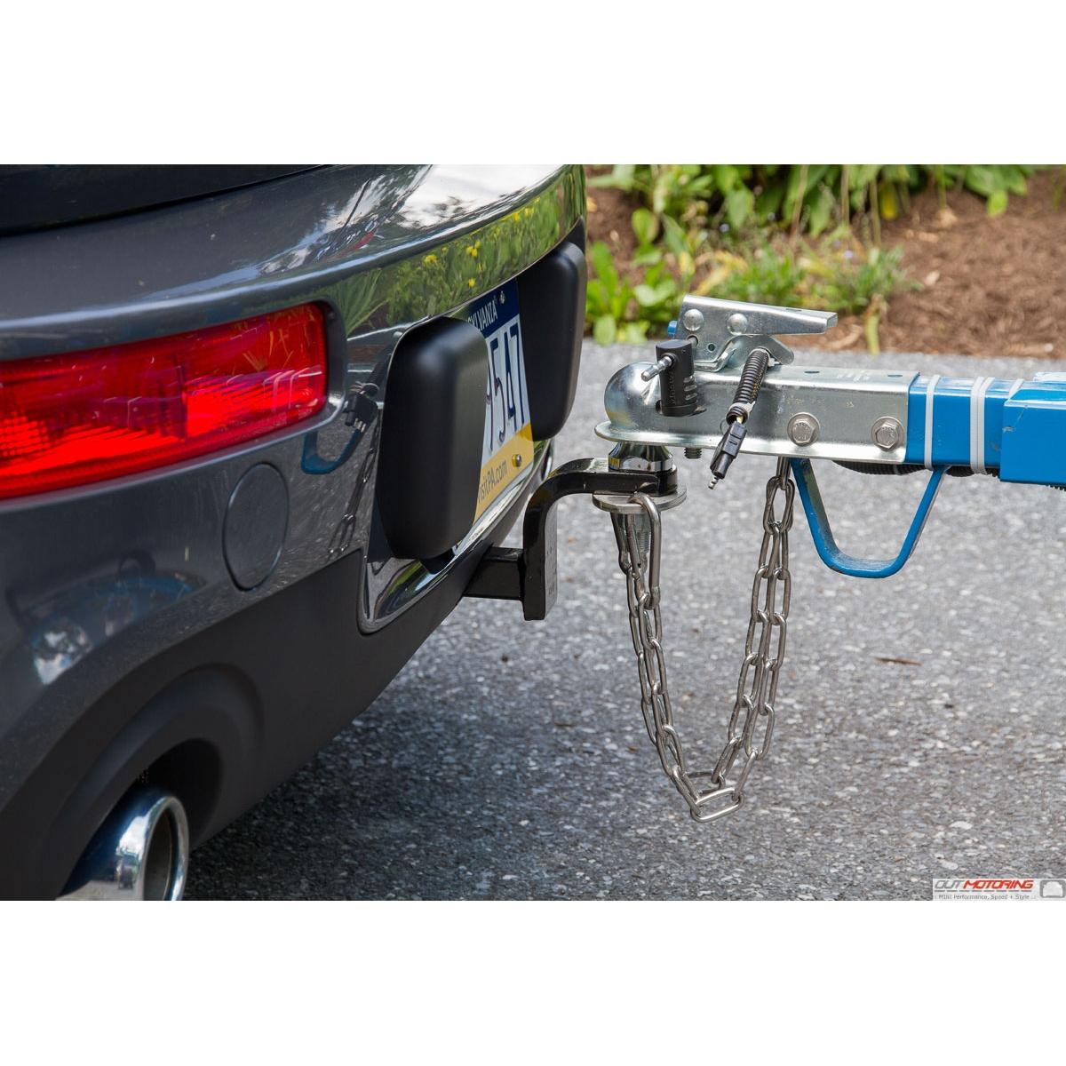 Best Bike Rack For Mini Cooper: MINI F54 Clubman Towing Hitch Bike Rack: Trailer Mount
