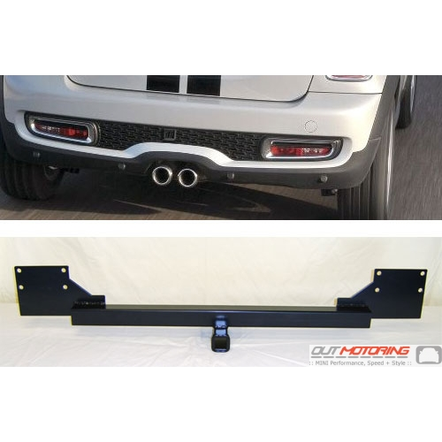 Hidden Trailer Hitch Receiver: 2011+ R56/7/8/9 'S'
