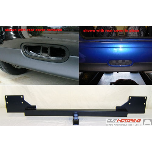 Hidden Trailer Hitch Receiver: Pre 2011 R56/7