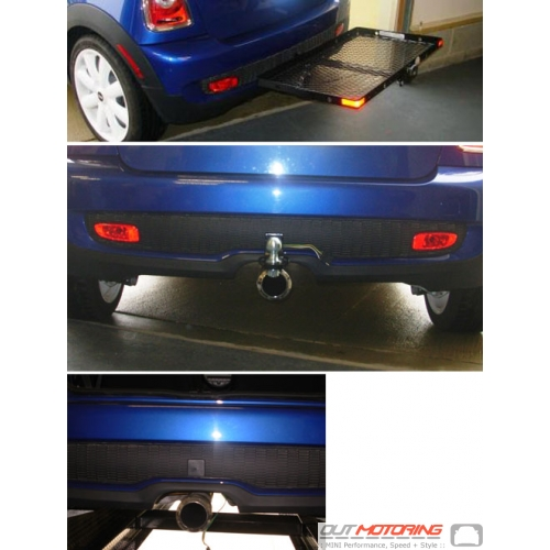 Hidden Trailer Hitch Receiver: Pre 2011 R56/7 'S'