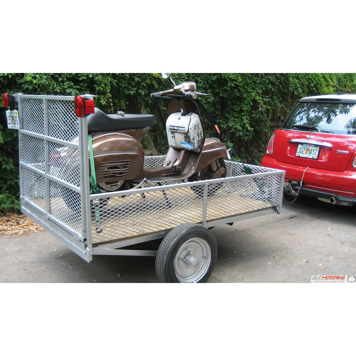 Mdm 1001 Mini R50 Hatchback  R52 Convertible Towing Hitch Bike Rack Mini Cooper Trailer Hidden
