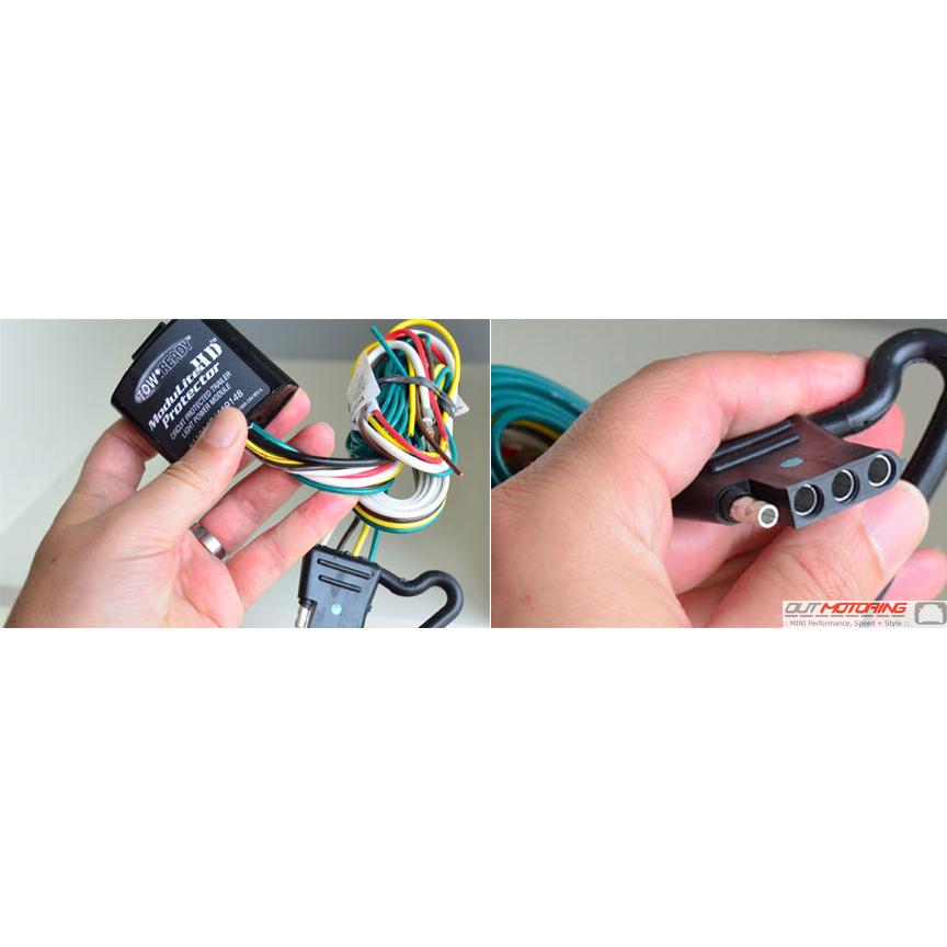 Towing Hitch Bike Rack Mini Cooper Trailer Mdm1009