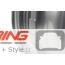 Cross Spoke Challenge R112: Light Alloy Rim: Silver