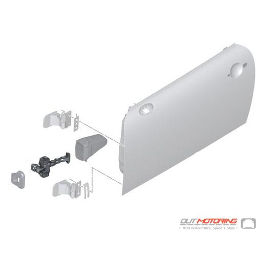 Door Brake Front: R50-R59