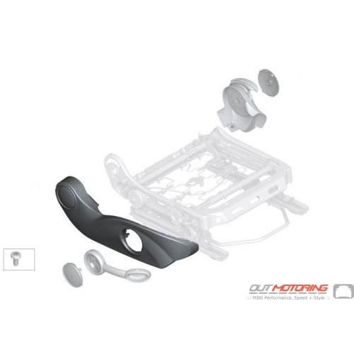 Seat Base Trim: Outer Right