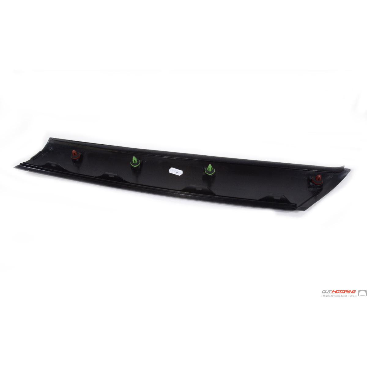 Left A 51137272583 Pillar Black Trim Cover Genuine MINI