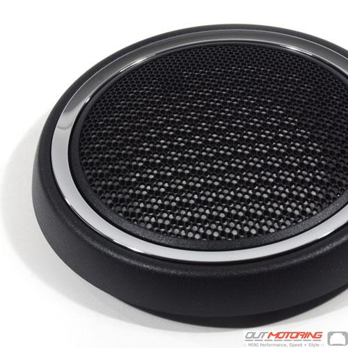 51412753333 Mini Cooper Replacement Door Speaker Cover Chrome