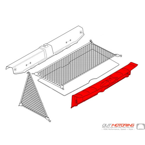 Trunk Trim: Loading Sill Cover
