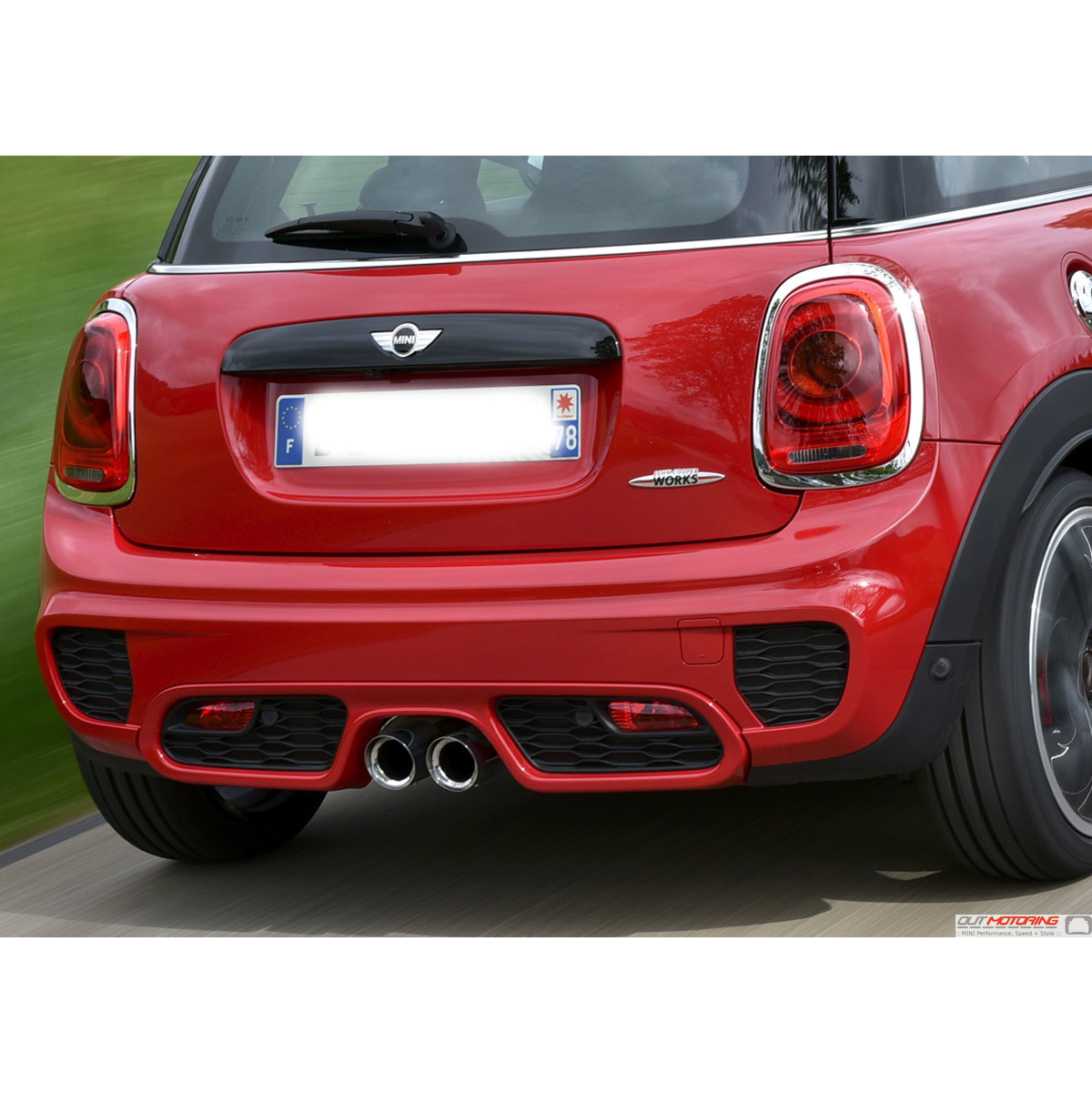 Mini cooper s f56 f55 f57 jcw rear bumper mini cooper accessories mini cooper parts Mini cooper exterior accessories