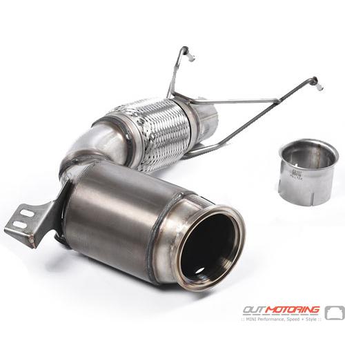 Mini Cooper S Milltek Downpipe High Flow Exhaust Gen3 Mini Cooper