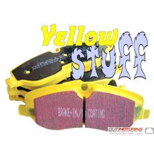 EBC YellowStuff Brake Pads: Rear Set