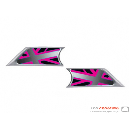 Side Marker Housings: UK Pink Inserts: R55/6/7/8/9