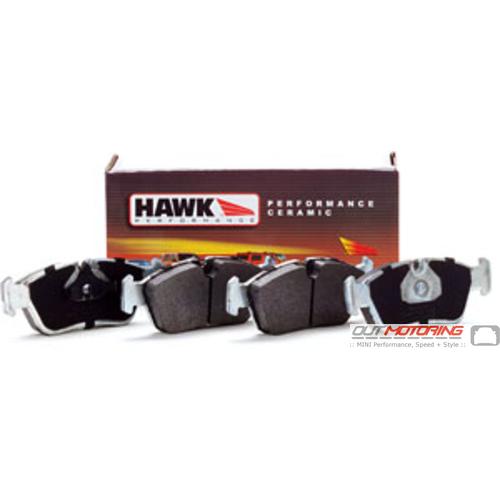 Hawk Ceramic Brake Pads: Front Set