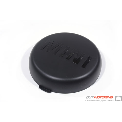 Driving Light Cover: Black
