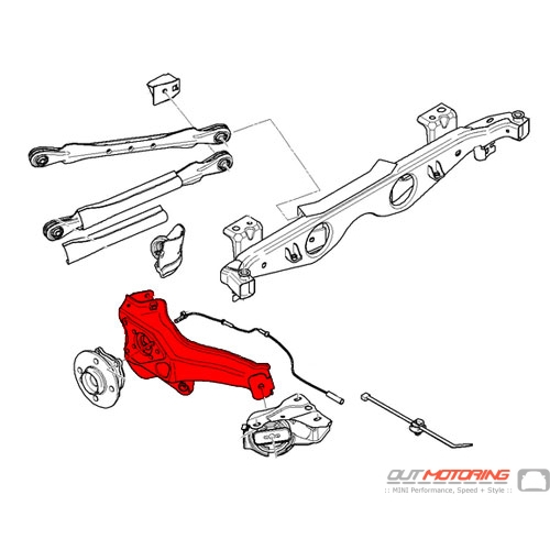 Trailing Arm: Right