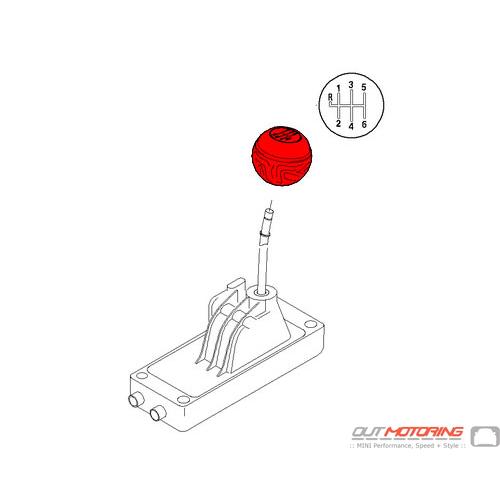 MINI Shift Knob: Manual: 6 speed