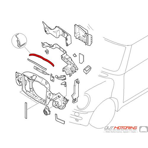 Front Engine Hood Sealing