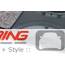 Trunk Lid Trim Panel: Black