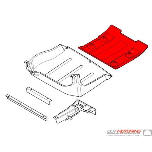 Rear Underbody Air Duct