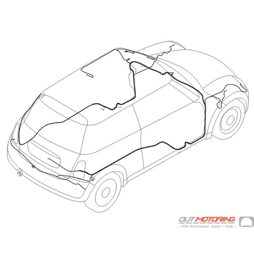 Mini Cooper Wiring Harness Electrical Circuit Electrical Wiring