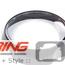 "JCW ""Calibration' SpeedometerTrim Ring: 6.5"" F55/6/7"