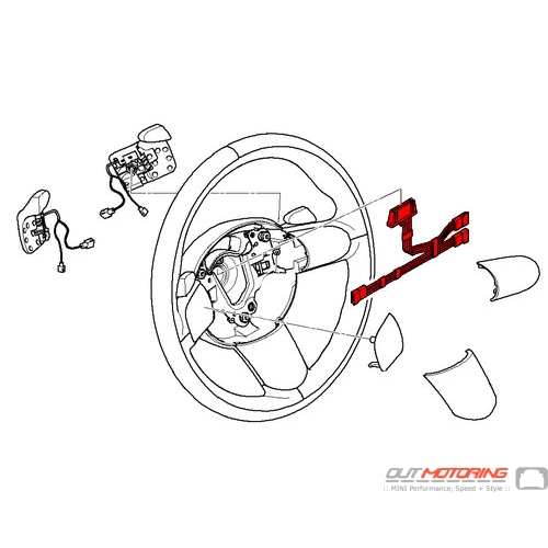 Steering Wheel Control Wire Kit