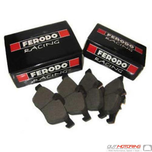 Ferodo DS2500 Brake Pads: Rear Set