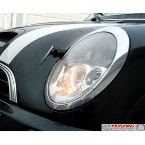 Headlight: w/ Cleaning System: Left