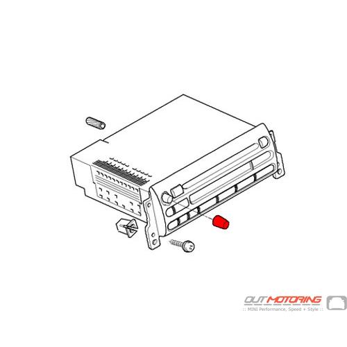 Stereo Control Knob Button