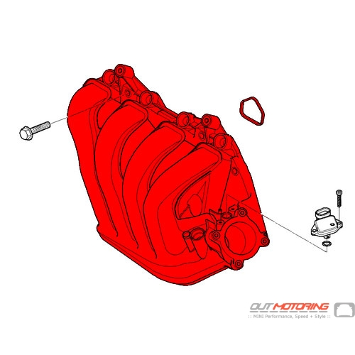 11617562531 Mini Cooper Replacement Intake Manifold System Mini