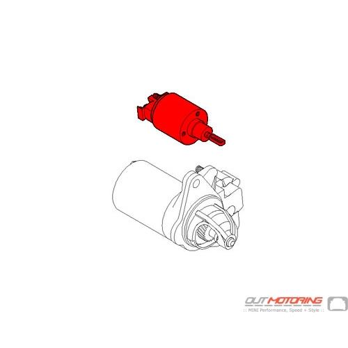 12411517332 MINI Cooper Replacement Starter Solenoid Switch - MINI