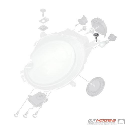 Hex Bolt w/ Washer: Headlight Housing