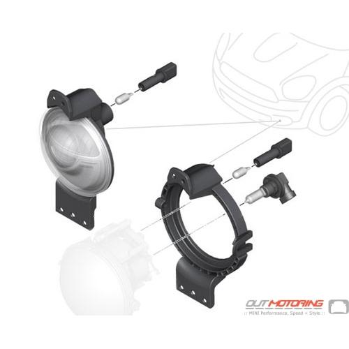 Bumper Headlight for LED Fog Lights