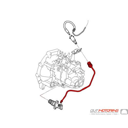 Genuine MINI R56 R55 R57 R58 R59 R60 R61 Clutch Line Transmission 21526863945