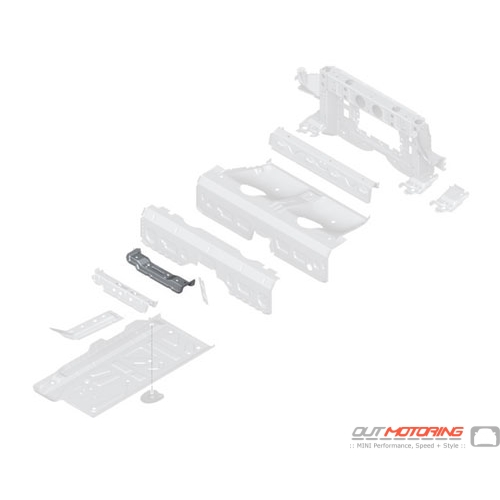 Seat Console: Rear Left