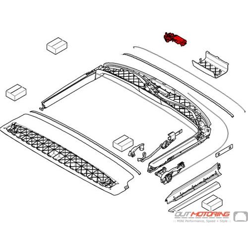 Convertible Top Drive Unit: Lift Motor