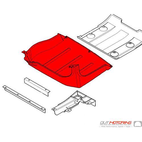 Underbody Paneling: Rear