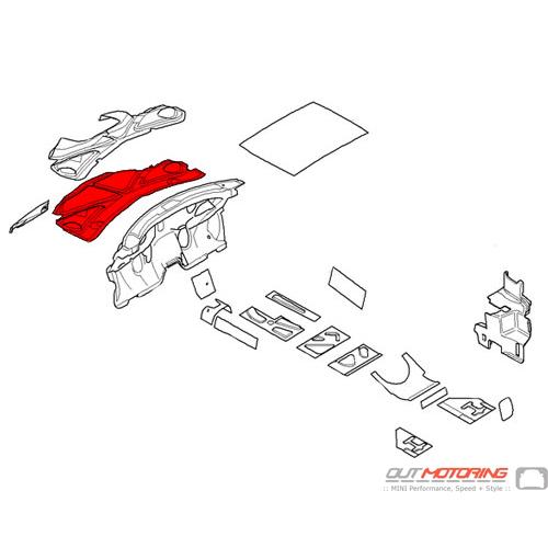 Sound Insulation: Engine Hood