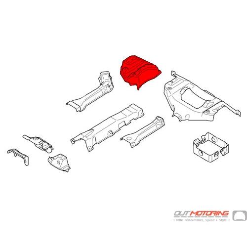Heat Insulator Rear Silencer