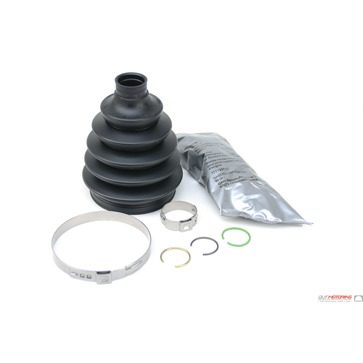 31607518245 mini cooper cv joint boot kit  r50  2  outer