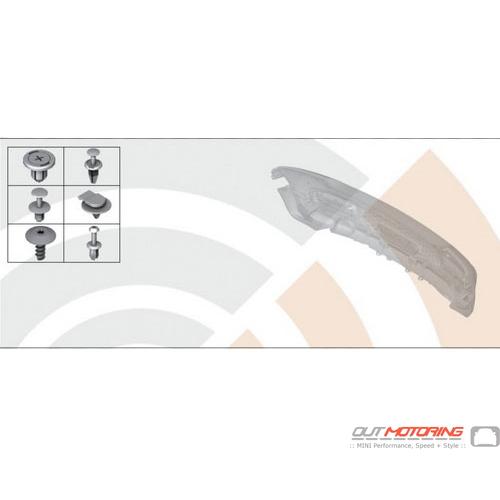 Rear Bumper Hardware Kit