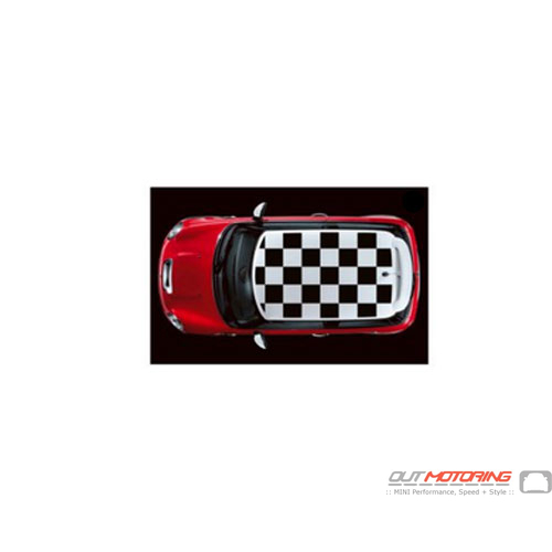 51140140184 Mini Cooper Replacement Hatchback Roof Graphic