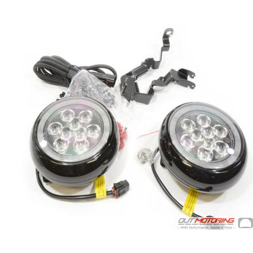 LED Driving Light Kit w/ Brackets