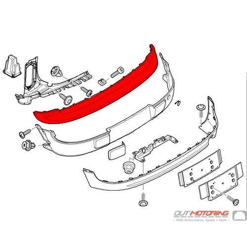 Bumper: Cover: Rear