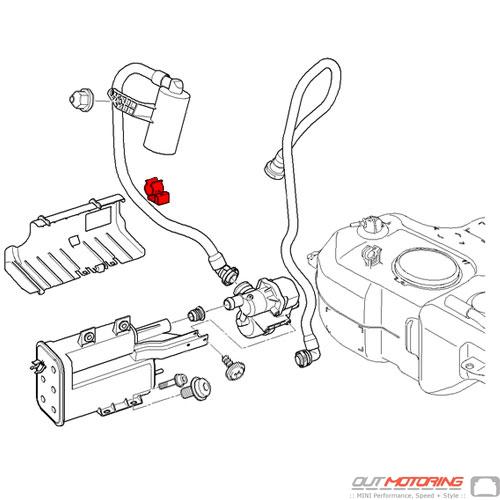16131183931 Mini Cooper Replacement Cable Clip