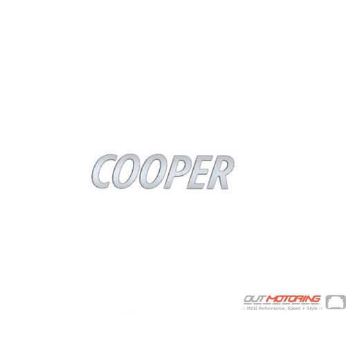 """""""Cooper"""" Emblem"""