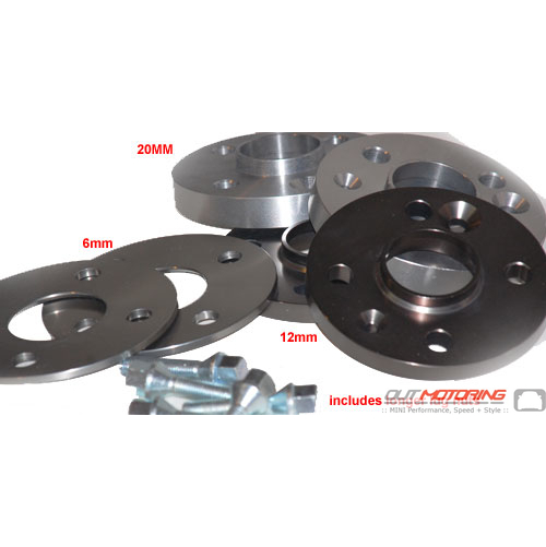 12mm Single Wheel Spacer with Lugs: 4x100