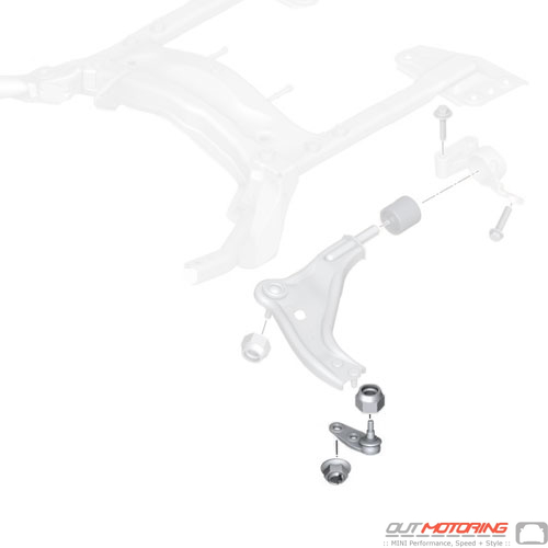 Control Arm/Ball Joint Repair Kit: Left