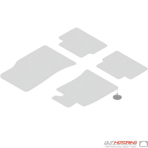 Velcro Floormat Mounting Plate w/ Screw Thread