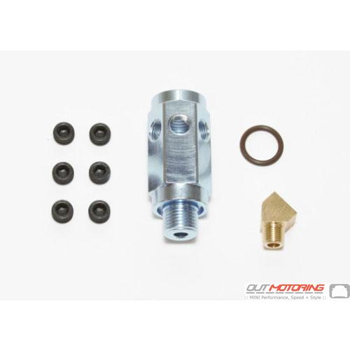 Cravenspeed Oil Pressure Adapter: N12+N14